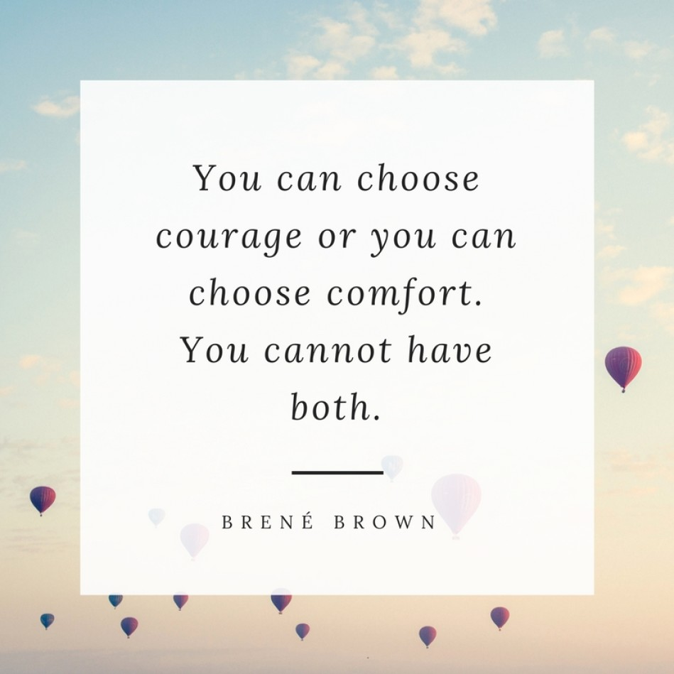 There are many times when #life can be uncomfortable and challenge us in ways we are not sure we can handle. Be #strong, be #brave and have the #courage to find your #possibilities to live your most #fiercelyfabulous life.