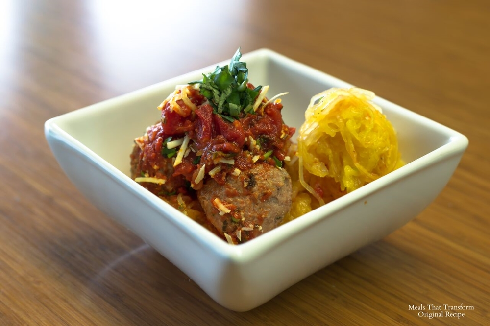 Meals That Transform Spaghetti Squash and Turkey Meatballs