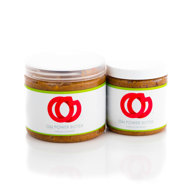 Welcome to the New Nut Butter: OM POWER Nut Butter is Filled With Fresh, Fruity, Organic and Gluten-Free Ingredients that Will Give Your Body a Delicious Energy Boost Any Time of the Day!