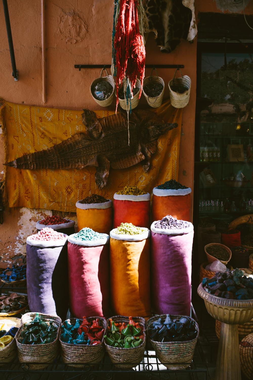 Souk Details: Marrakesh