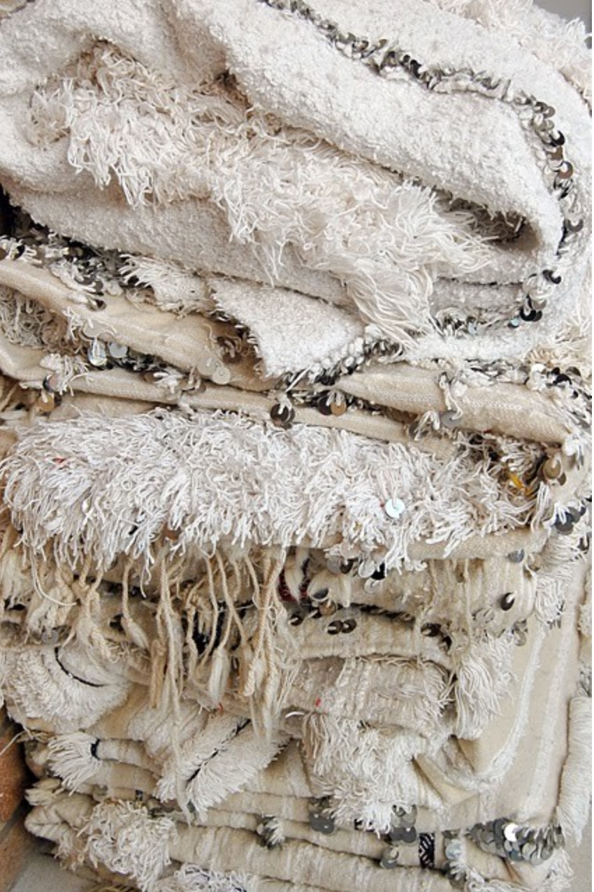 New Moroccan Wedding Blankets in the West — Semikah Textiles NB76