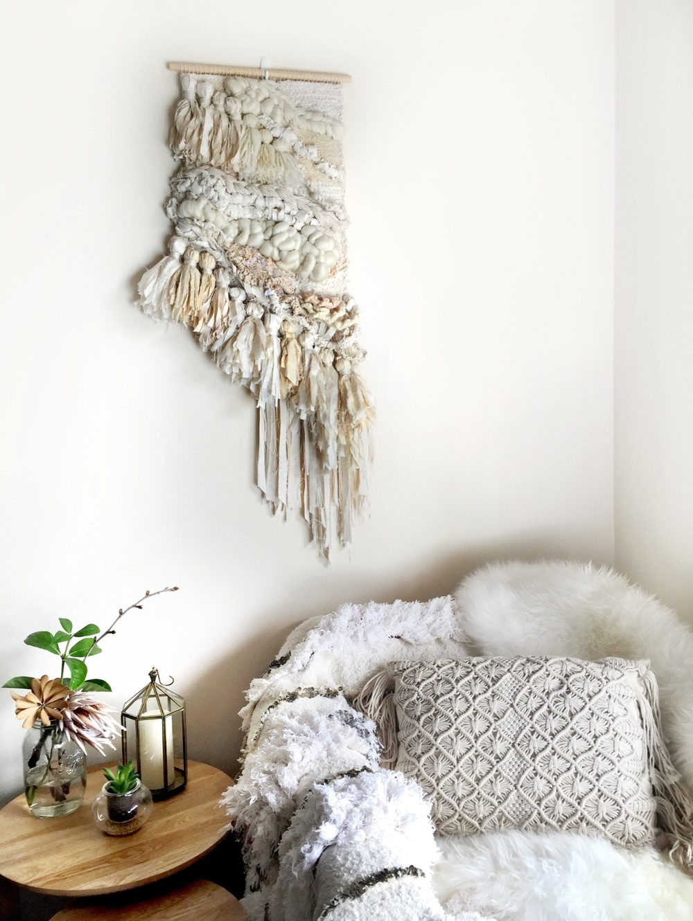 image via crossingthreads.co to shop their gorgeous macrame pieces go to their website