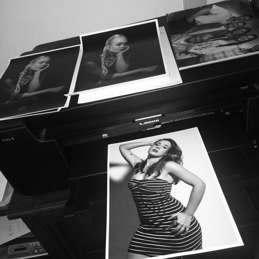 Canon Pixma Pro-1 + Ilford Galerie Prestige