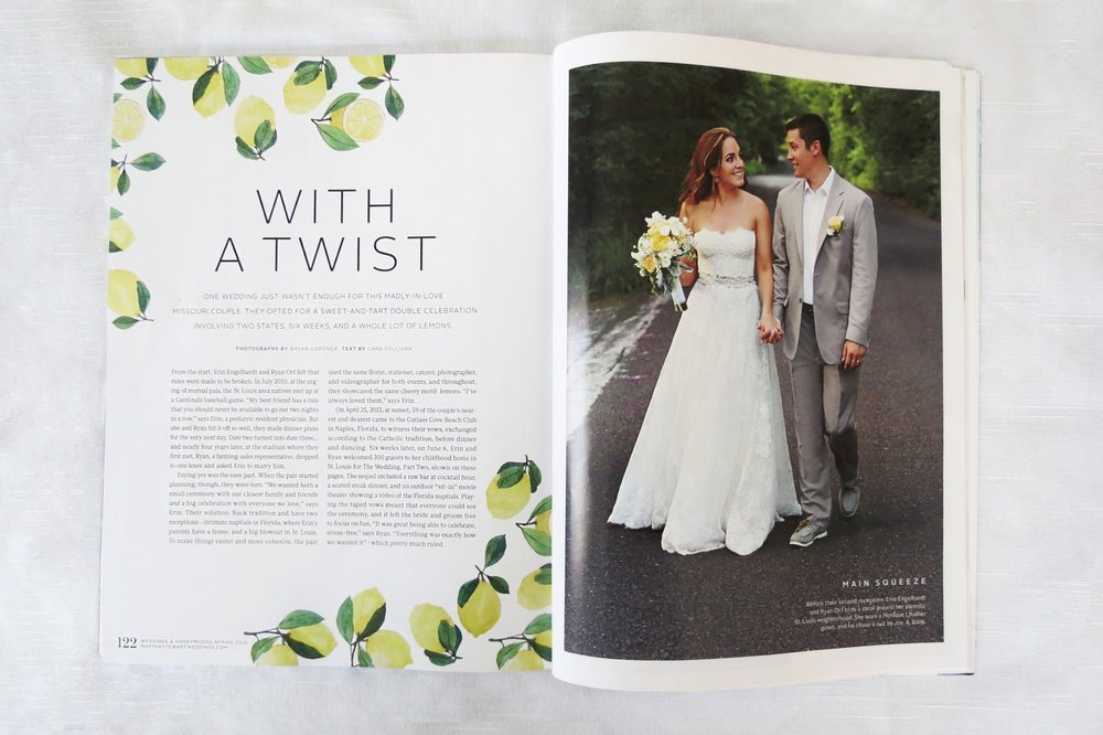 Editorial Magazines (MSW & The Knot)