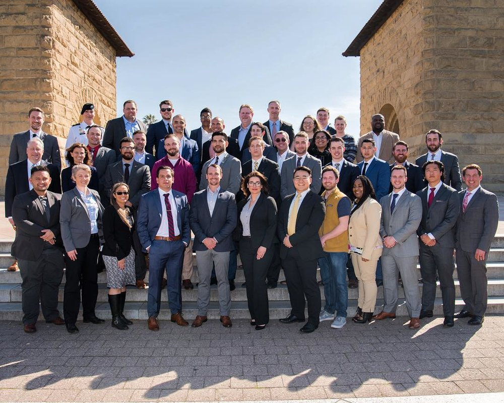 The Ivy League Veterans Council Meeting at Stanford University, Spring 2019