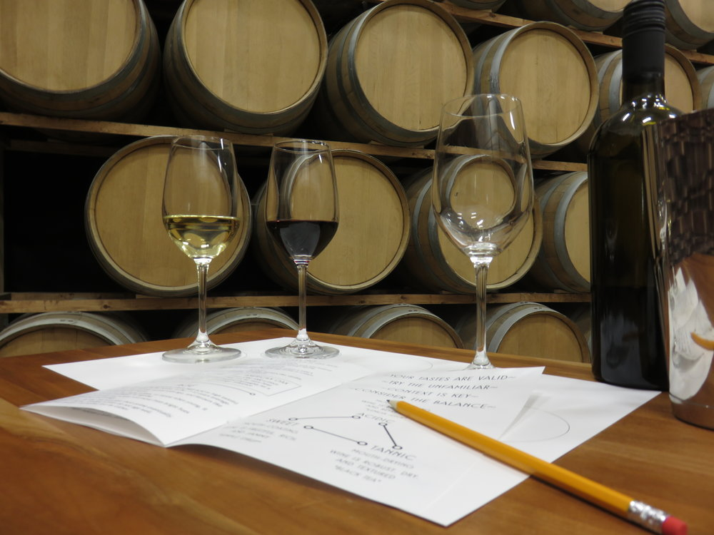"""This class was perfect for me. It was in a comfortable intimate setting where one could ask Moss questions as we went along... I look forward to more schooling in wine."""