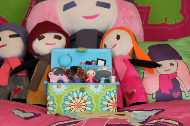 "Trims Avenue was a partner on production of the dolls for Pocket People. It started back in 2012. Owner/CEO partnered with Pocket People because she loved the story behind the dolls and she believed that this will bring inspiration to a lot of children in different ways. ""Why? Everyone Matters"""
