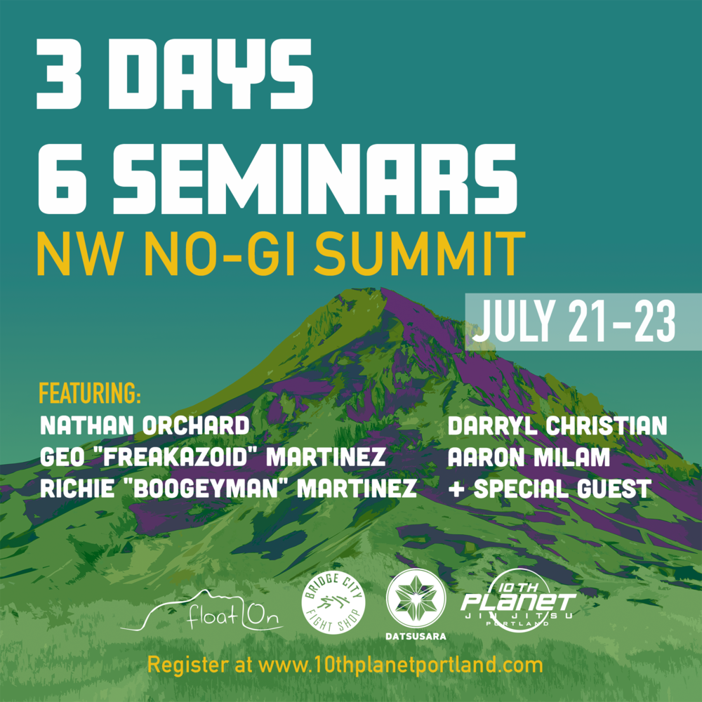 NW NO-GI Summit 2017