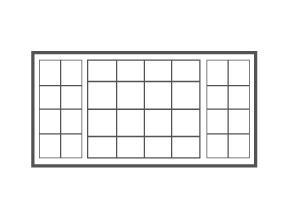 XOX   Colonial Grid