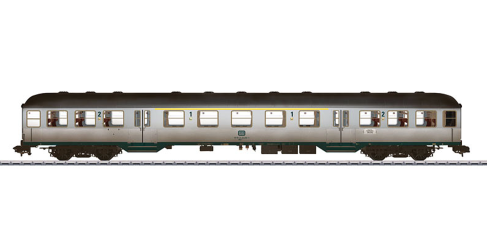 A Märklin coach for Gauge 1. (Garden railroad dimensions like LGB)