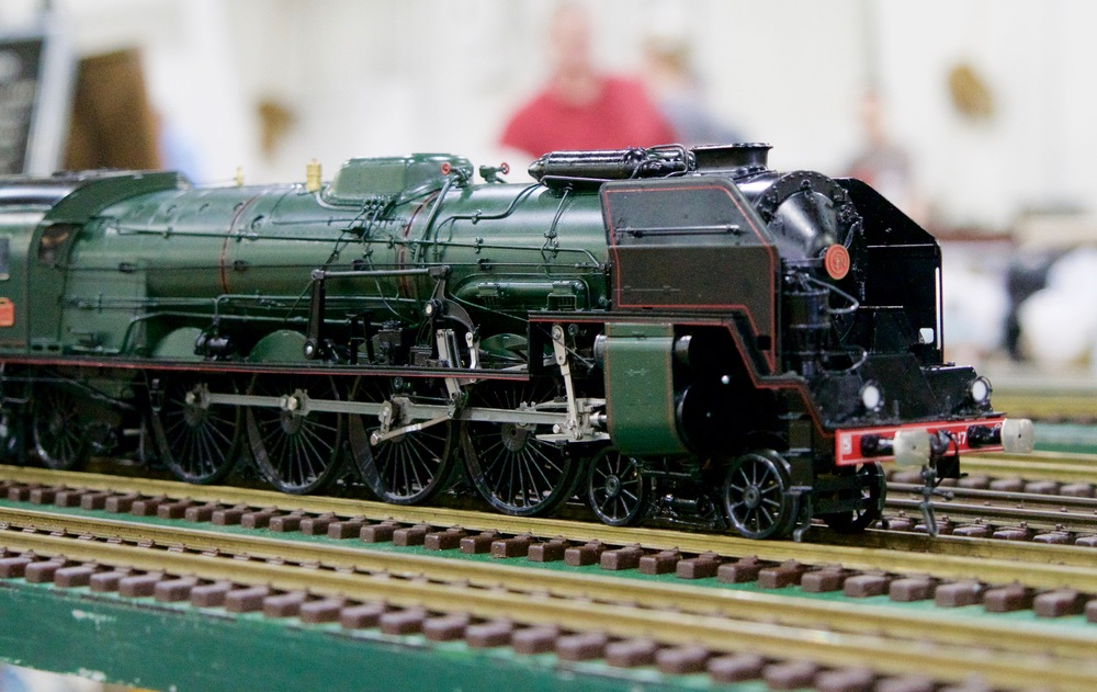 A SNCF (French National Railways) Class 241 Live Steam model.