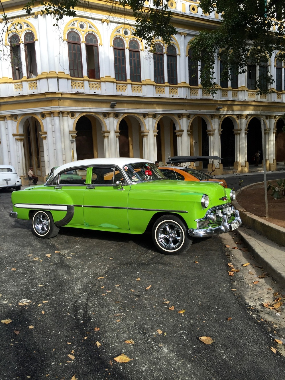 Cuba was a car lover's dream -- a 1955 Chevy!