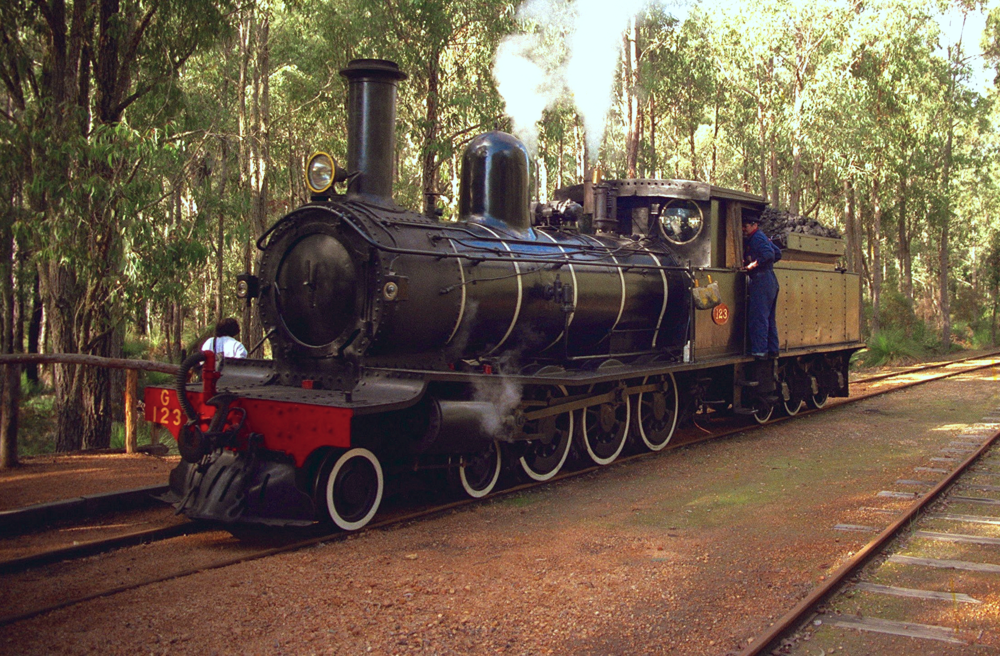 Steam Locomotive at the Hotham Valley Railway                            Photo by Gerry Coles