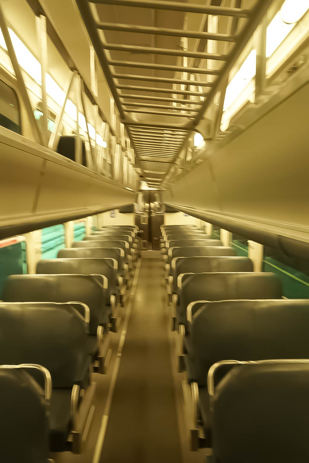 Another interior shot of car 749 (Sorry about the photo quality!)