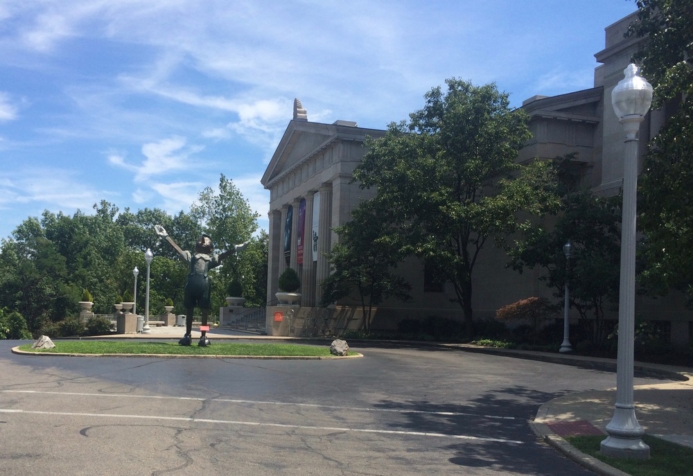 Cincinnati Museum of Art, next to Eden Park.   (Photo by B. Wing)