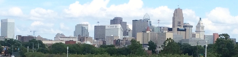 A View of downtown CIncinnati (Photo B. Wing)
