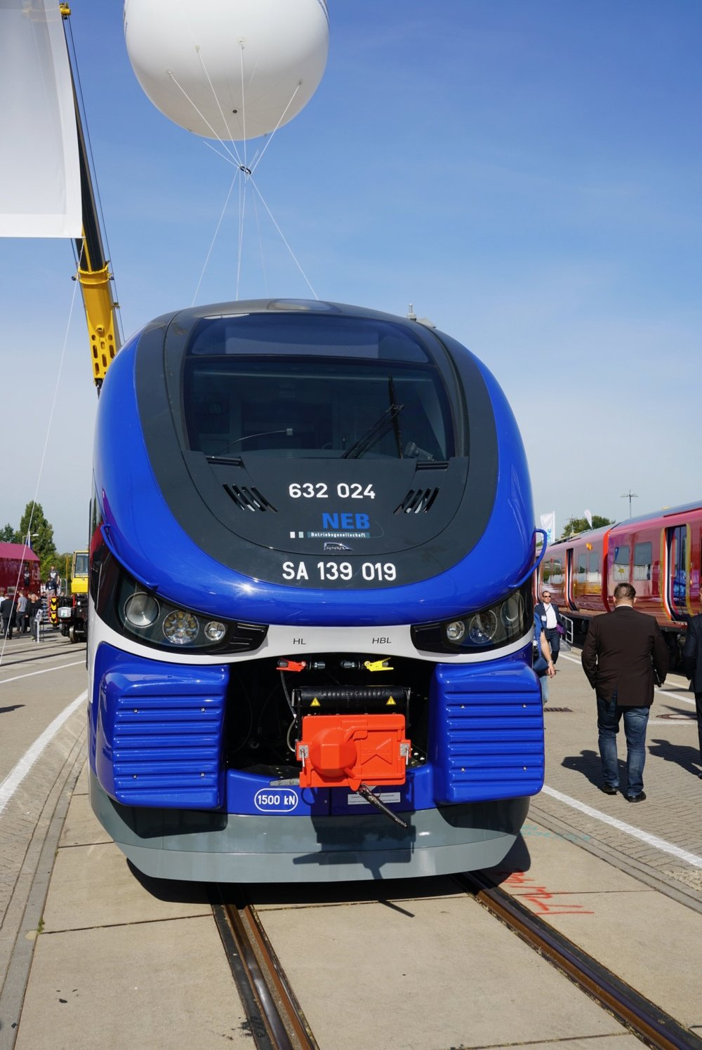 "PESA also built this DMU for the German operator ""Niederbarnimer Eisenbahn"" for suburban traffic."