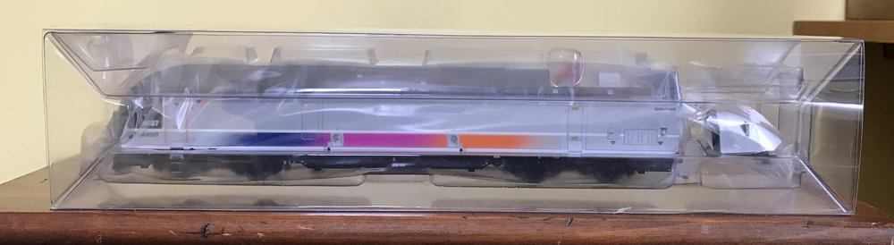 My new HO scale ALP-45DP locomotive
