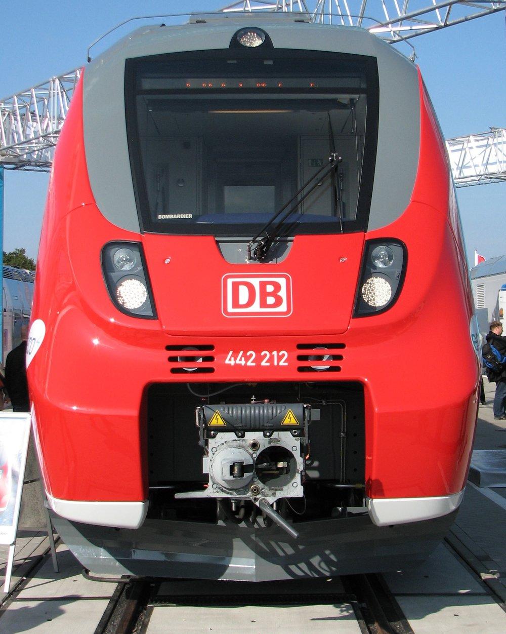 A Deutsche Bahn AG class 442 Electric multiple unit.