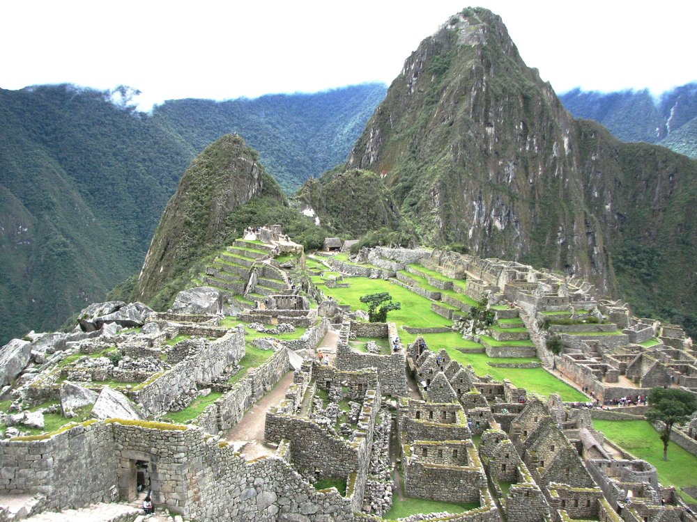 Machu Picchu as seen from the Visitor Center. Absolutely worth a trip. Photo by Ralf Meier