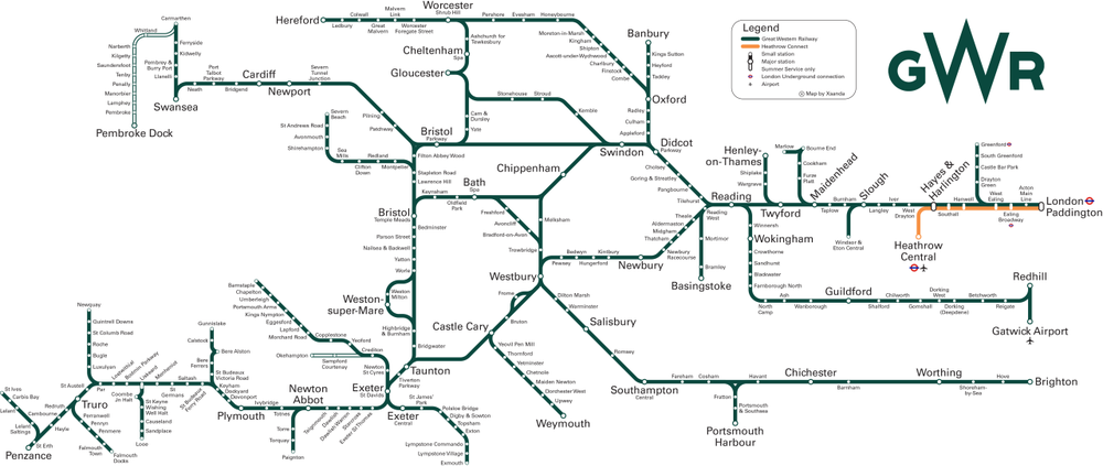 GWR System Map.png
