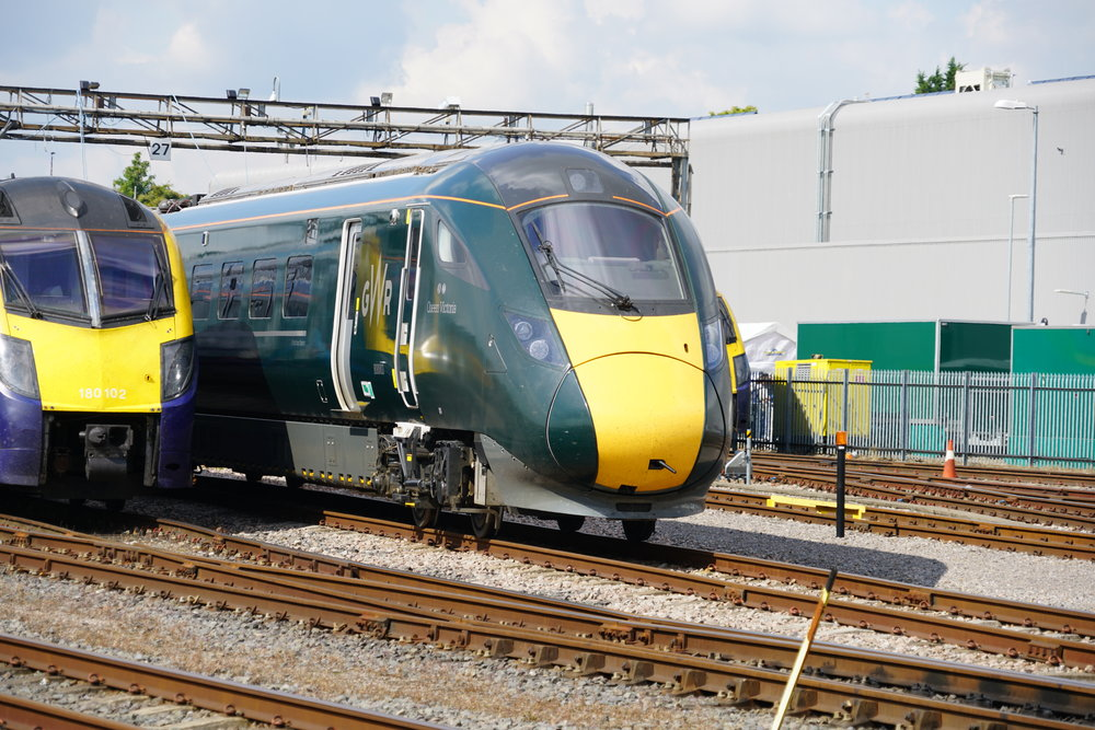 "The ""B"" end of a GWR Class 800 train. Photo by Ralf Meier"
