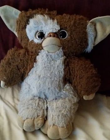 This is why I'm a grown ass adult with a Gizmo stuffed animal on my bed.