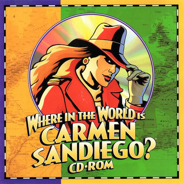 Where in the World is Carmen Sandiego  CD-ROM, Brøderbund, 1995    Flickr