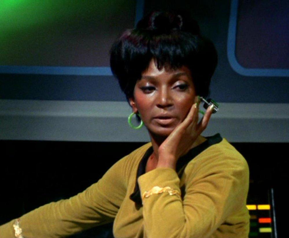 Nichelle Nichols as Nyota Uhura on Star Trek   Memory Alpha
