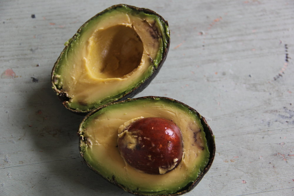 This avocado worked well on my face, despite being bruised.