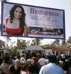 Enero 2011. Reyes magos en La Antigua con López Gachuz y Asociados