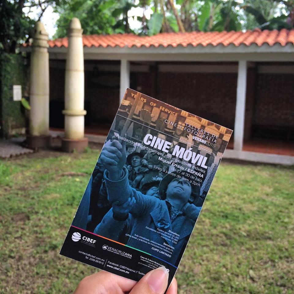 Taller de cine y fotografía con el CIBEF