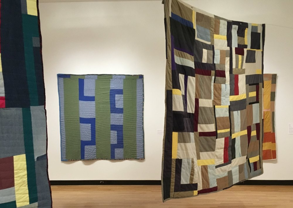 Quilts by Mary Lee Bendolph, Mount Holyoke College Art Museum, South Hadley, MA / © Patricia A. Banks