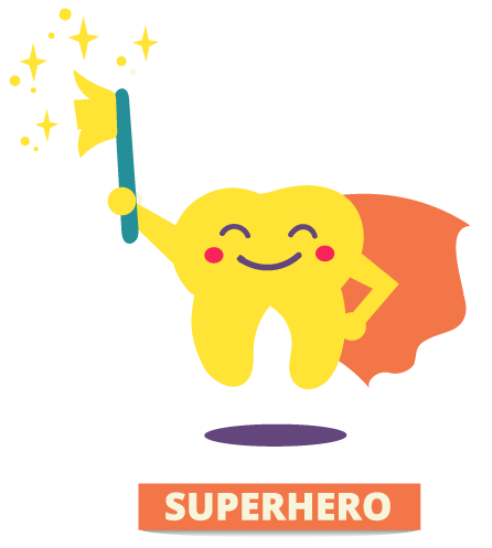 tooth superhero
