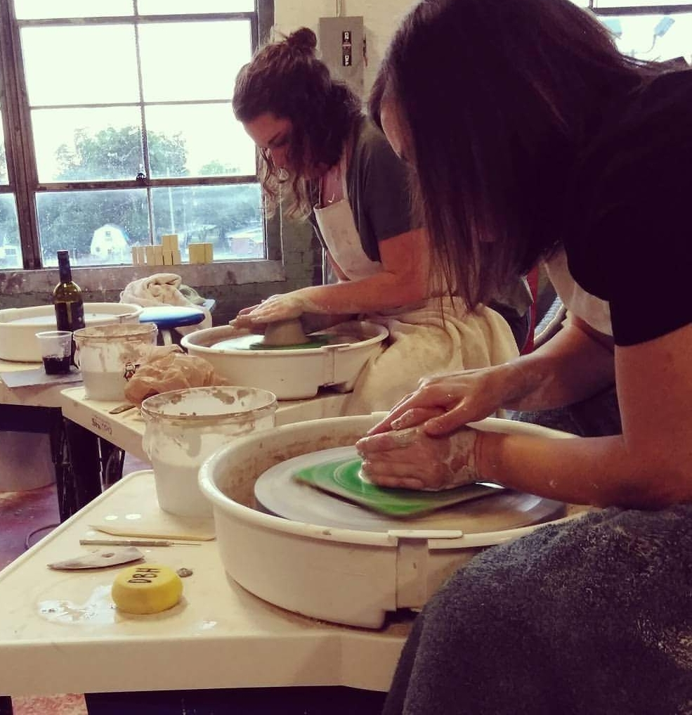 Click for more classes - at Design By Hart PotteryStudio 2009, Lowe Mill Arts & Entertainment