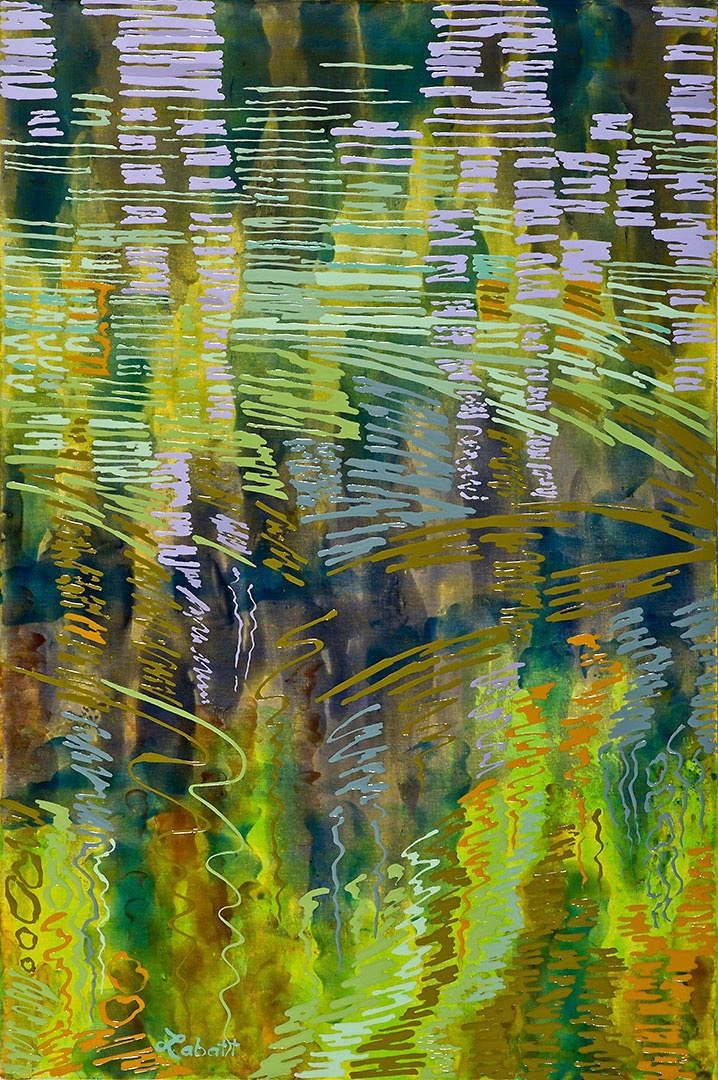 """Reflections"" is an expressive series of landscapes reflected in water."