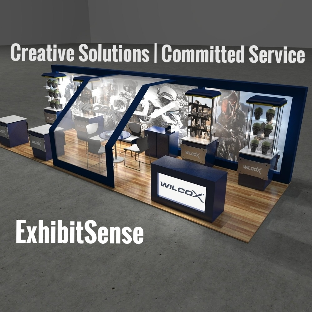 Trade Show Booths and Exhibits | Professional Exhibits, Rentals, and Banner Stands | 10x10, 10x20, Island, and Modular Booths | ExhibitSense | Wilcox