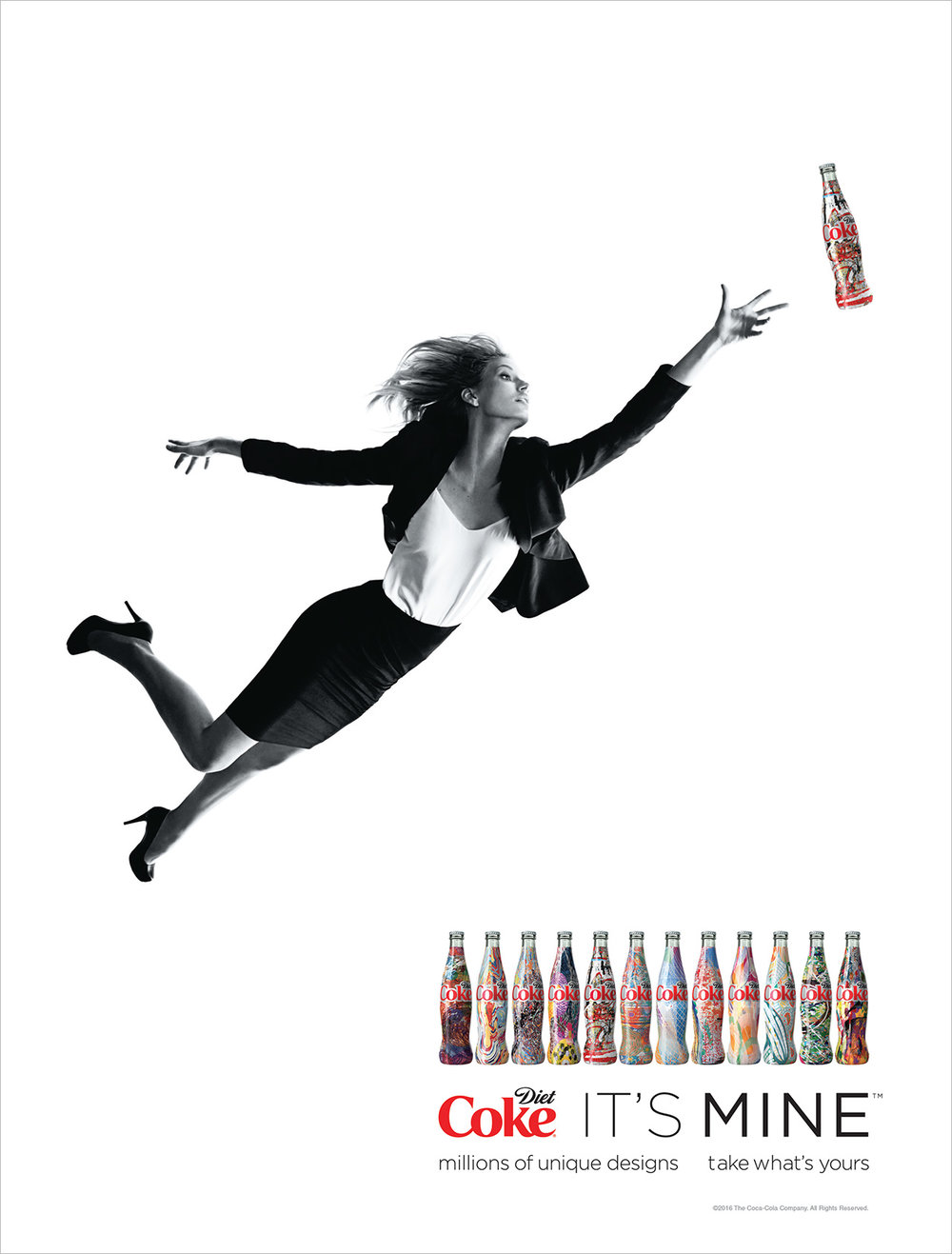 Diet Coke It's Mine, Social Campaign, 2015