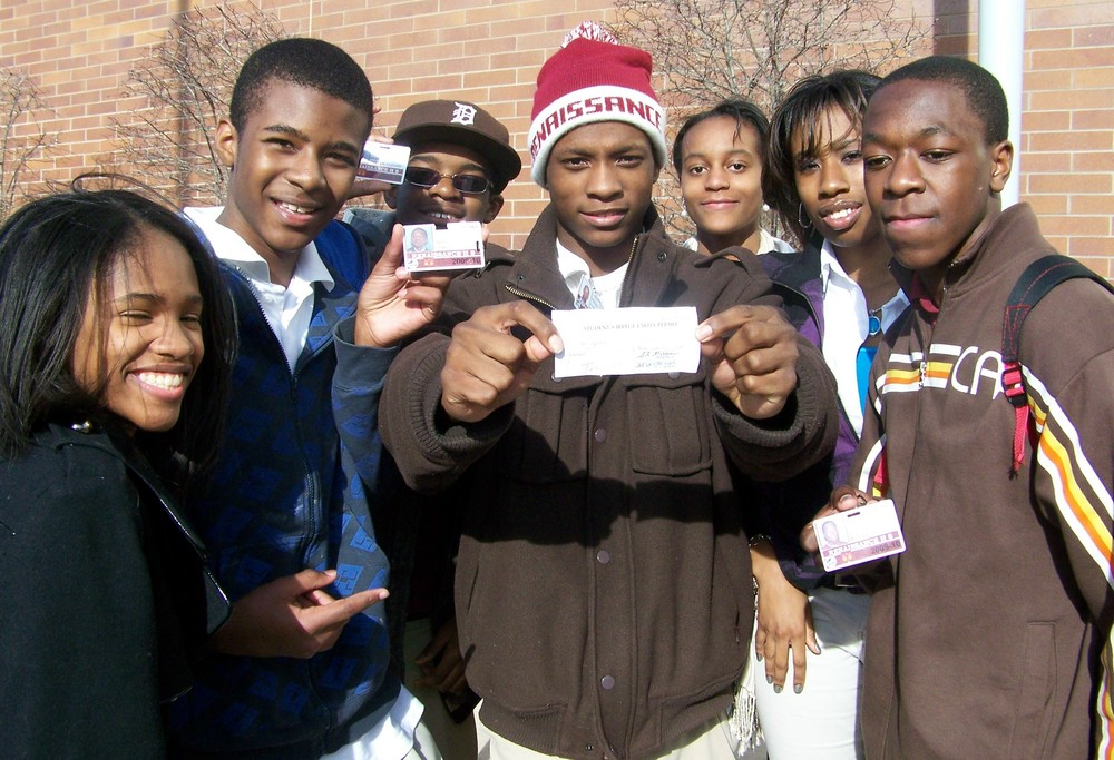 Students from Renaissance High School