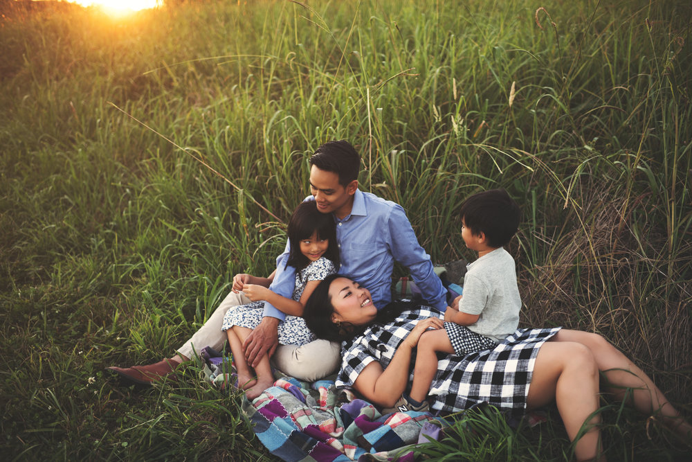 "Family Session - Starting at $250 (add $25 for each person after 6)Family sessions take place at an outdoor location between the months of March-November. We usually start around an hour - 1.5hrs before sunset or around 15 minutes before sunrise. Sessions are lifestyle in nature. We will get images of your family looking at the camera, posed nicely, but most of your session will be ""unposed"" (don't worry I'll guide you through that). My goal is to capture your family as you are - all the real, honest, good stuff. Payment due at session."