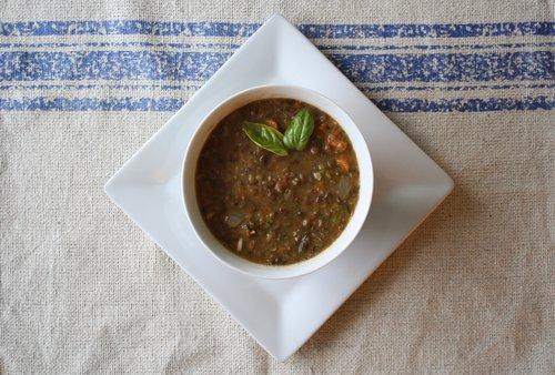 Creamy Vegetable Lentil Soup — Nourished Bite