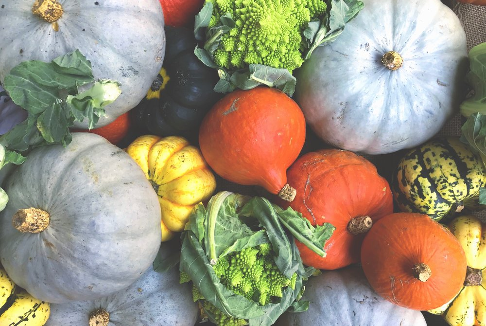 Fall's Best Seasonal Fruits and Vegetables