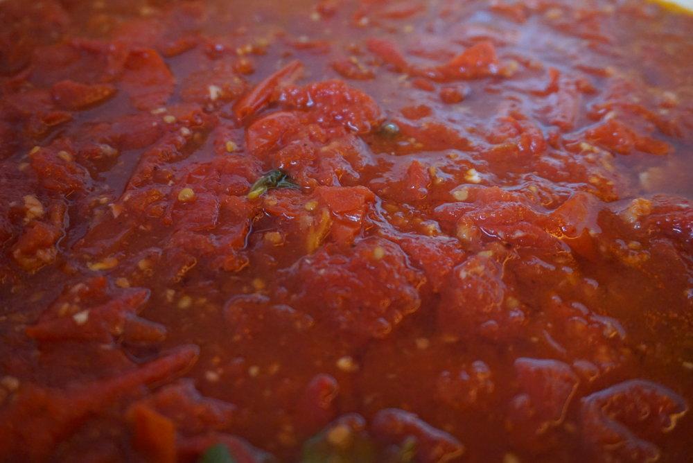 30 Minute Tomato Sauce