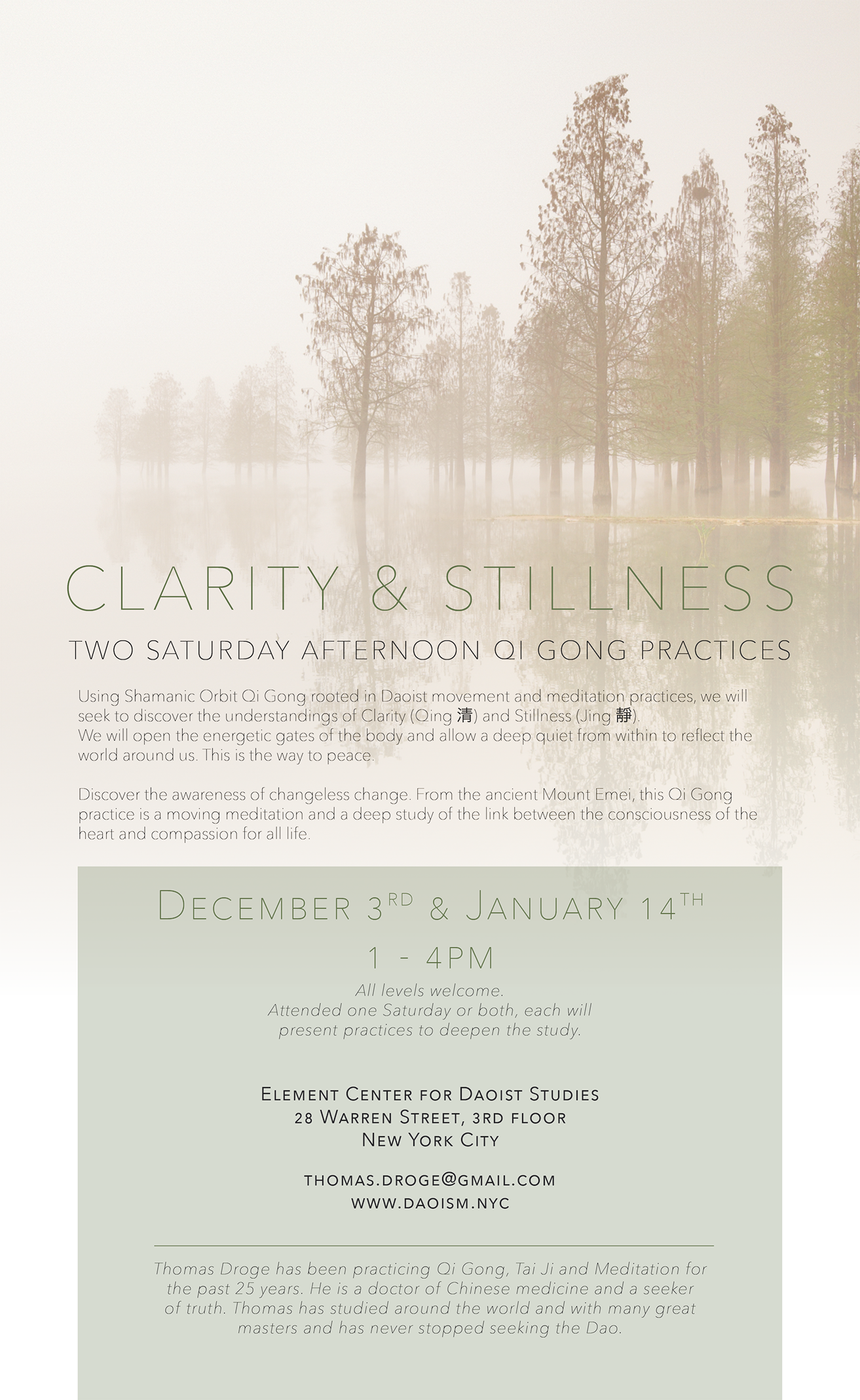 Clarity and Stillness || - Jan 14  — PATHFINDER INSTITUTE