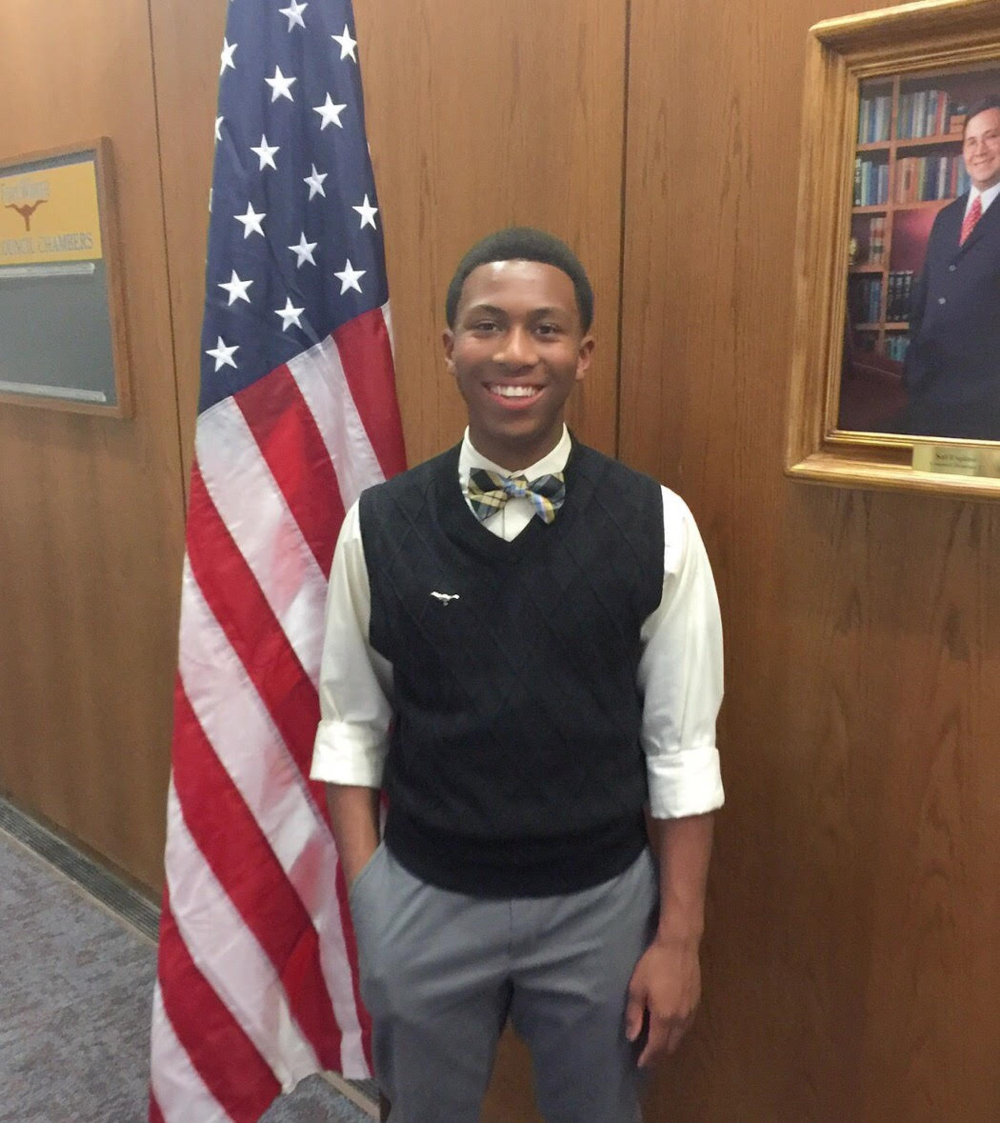 Randito Howard - Randito is the recipient of our inaugural $1,000 Fort Worth Sister Cities International BRIDGE scholarship to participate in the youth ambassador exchange program. He will participate in the 2018 spring exchange to Emilio, Italy. Congratulations!