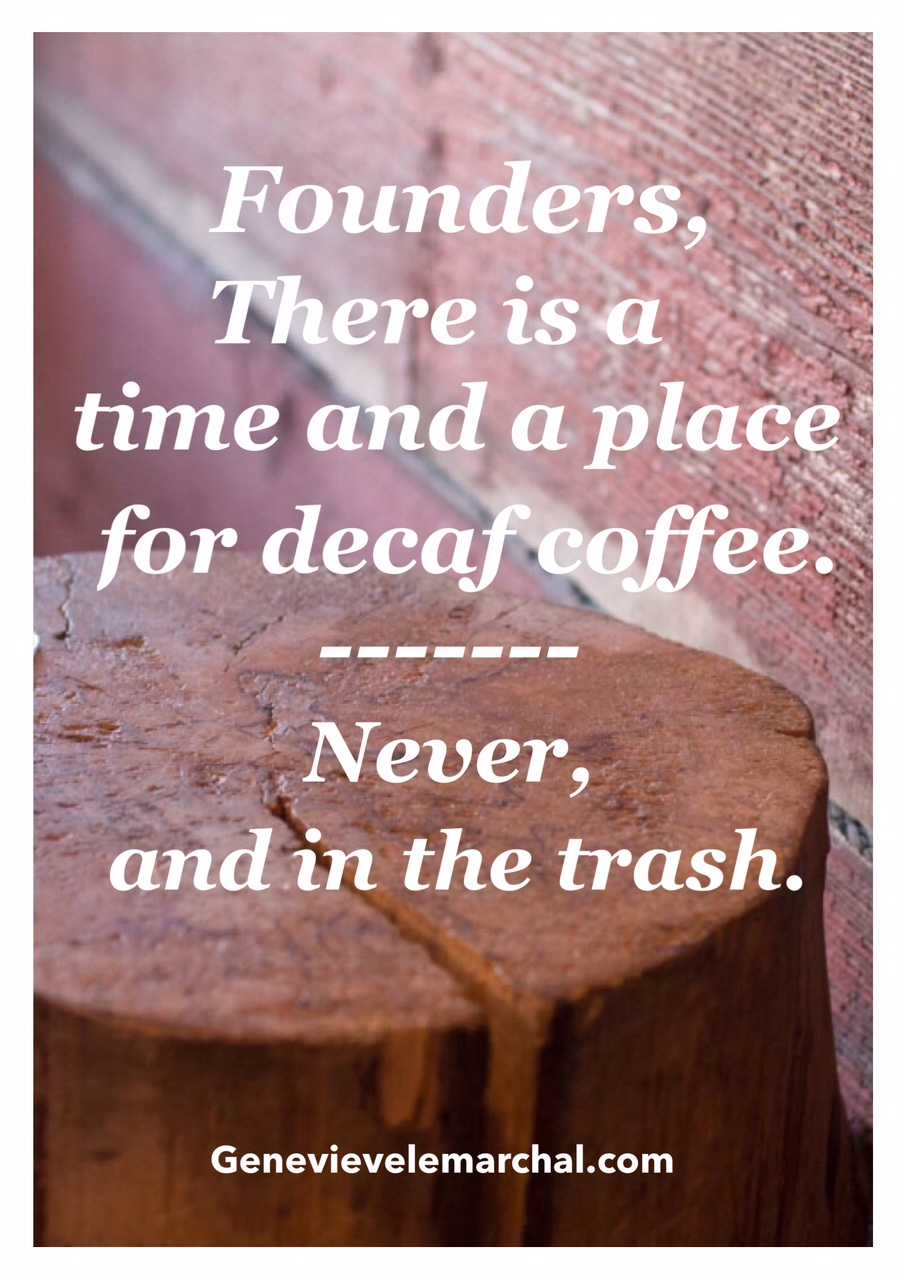 Genevieve LeMarchal_Coffee quote