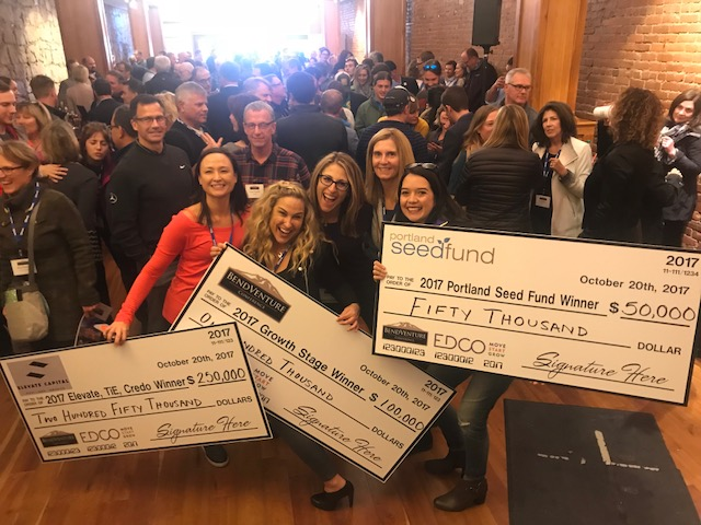 Team Handful at the 2017 Bend Venture Conference.