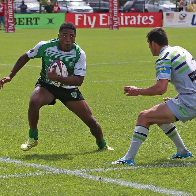 Finals at #nationals this past #sevens season against the Saracens. #rugby #bleedgreen