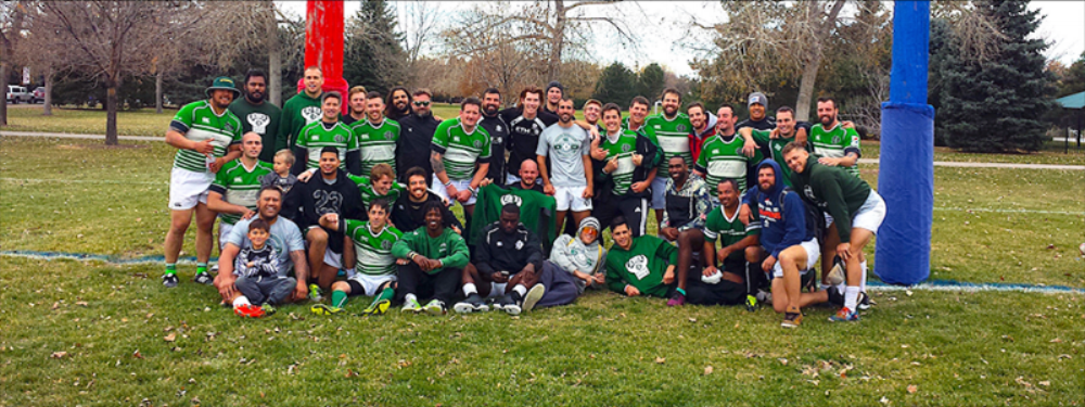 Denver Barbarians Rugby at Cook Park, Denver, Colorado - October 28, 2017