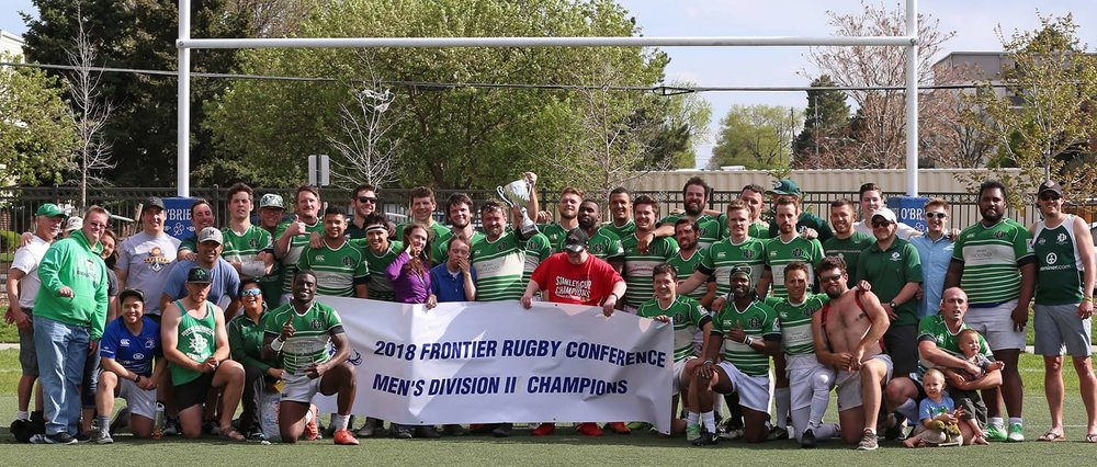 Denver Barbarians - 2018 Frontier Rugby Conference Champions